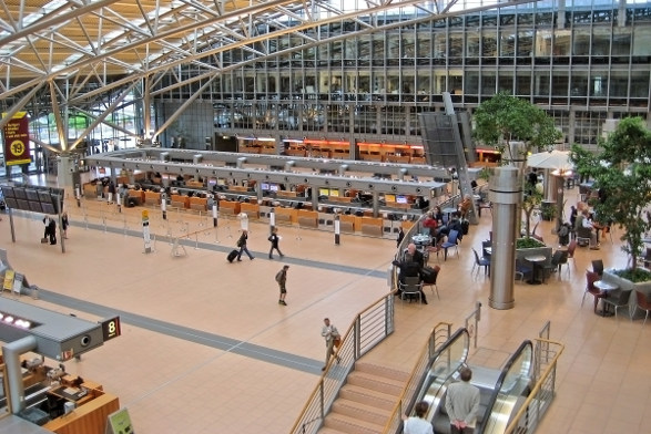 Hamburg germany airport