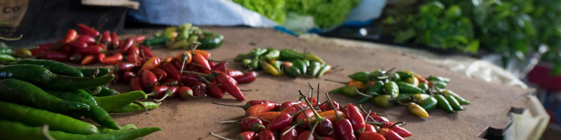 Chimoio chilli peppers