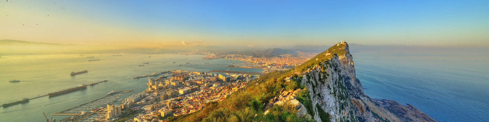 Hero gibraltar city skyline edited