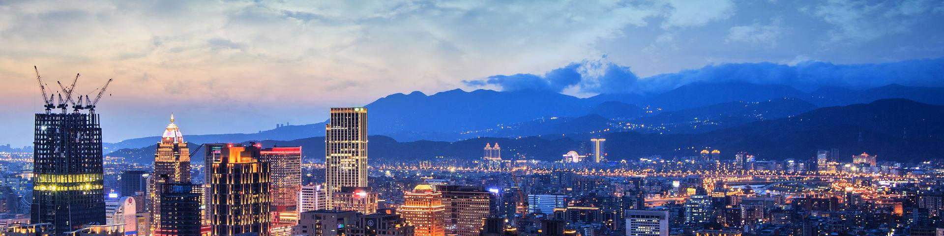 Taipei city view