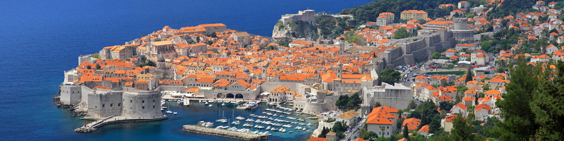 Dubrovnik cityscape hero banner