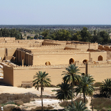 Ancient Babylon Ruins