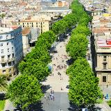 Las Ramblas Street