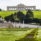 Landscaping at the Gloriette