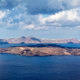 Santorini Volcano