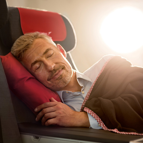 Austrian airlines sleep