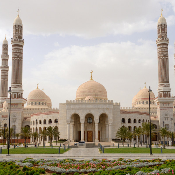 mosques yemen
