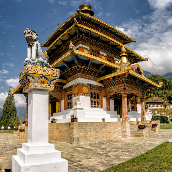 bhutan dzongs and monasteries