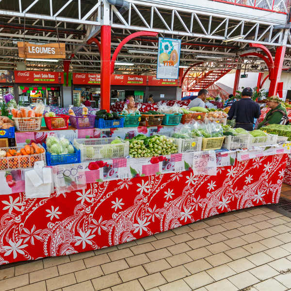 papeete markets