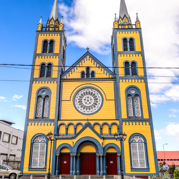 suriname dutch architecture