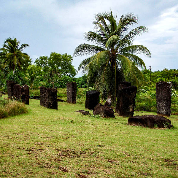 palau historical relics