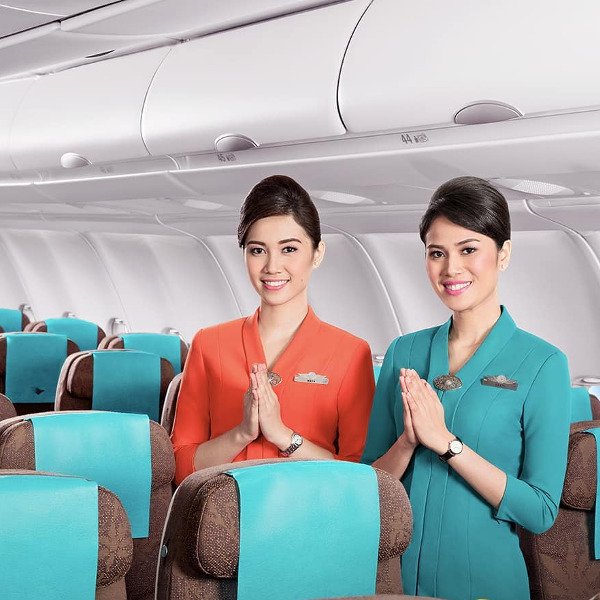 Garuda air hostess