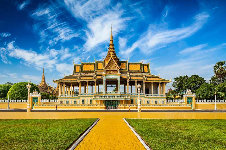 beautiful temple in Cambodia