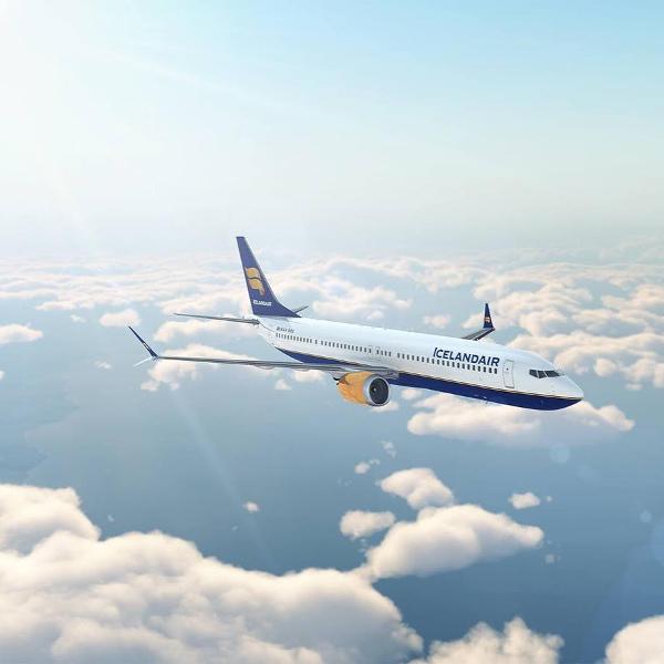 Icelandair onboard