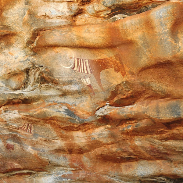 cave paintings - somalia