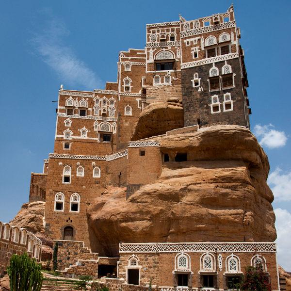 peculiar mud architecture