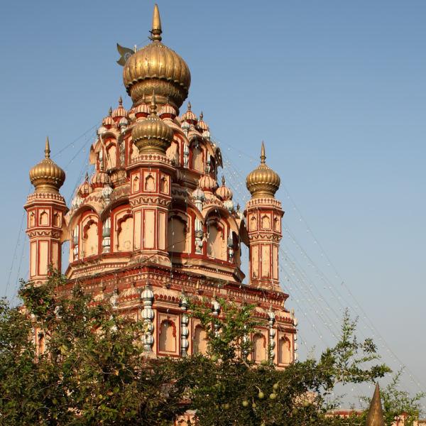 Old Parvati Temple In Pune
