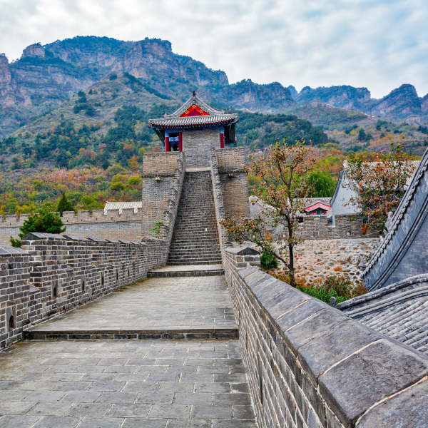 The Great Wall of China at Huangya Pass in Tianjin