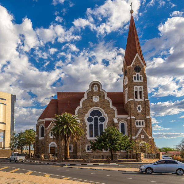 Luteran Christ Church in Windhoek, Khomas