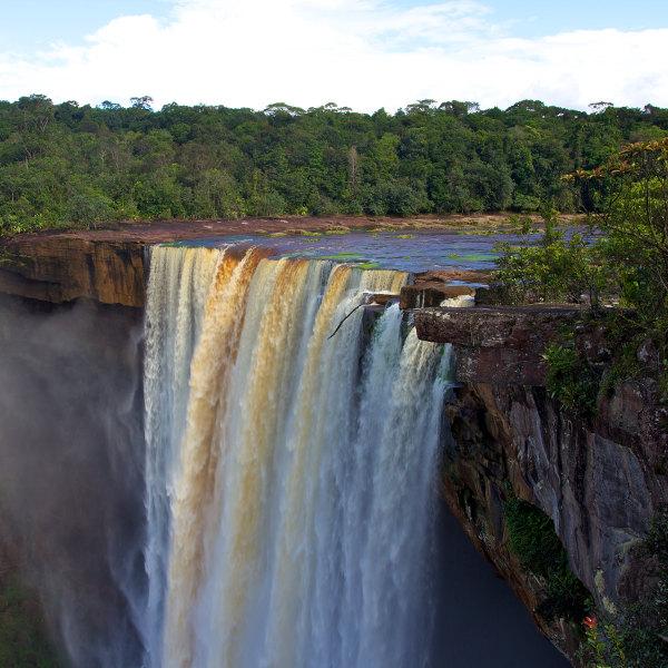 guyana kaieteur falls