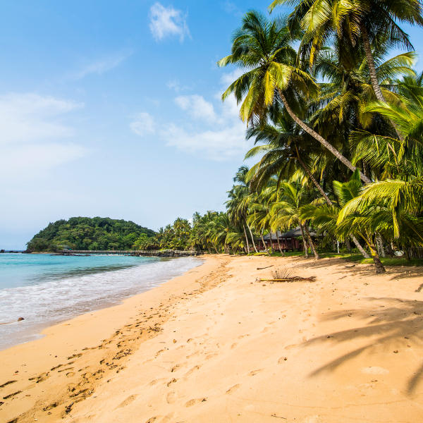 sao tome and principe beaches