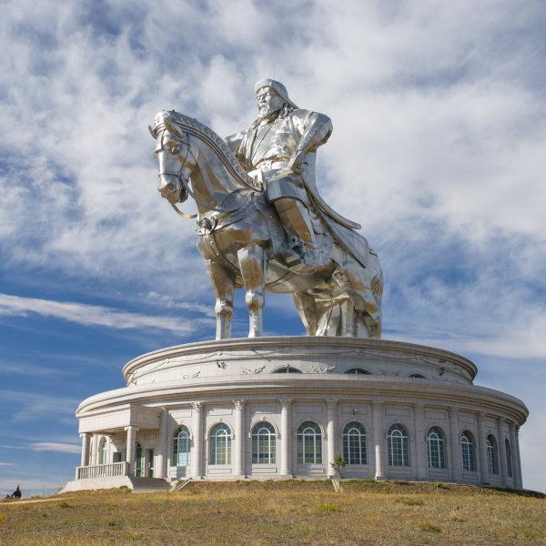 Genghis Khan  Statue Ulaanbaatar Mongolia