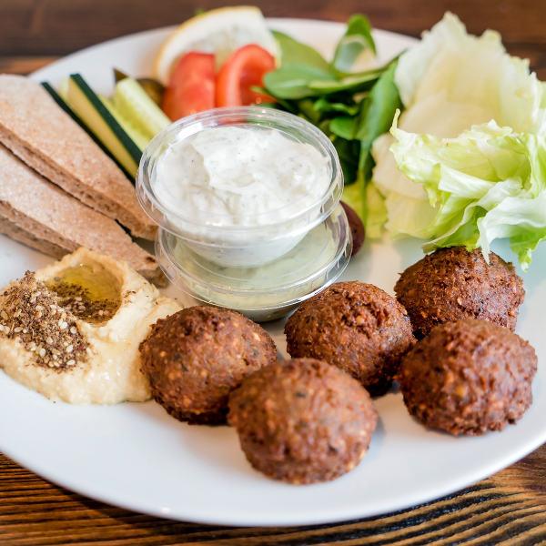 Falafel Plate Tel Aviv