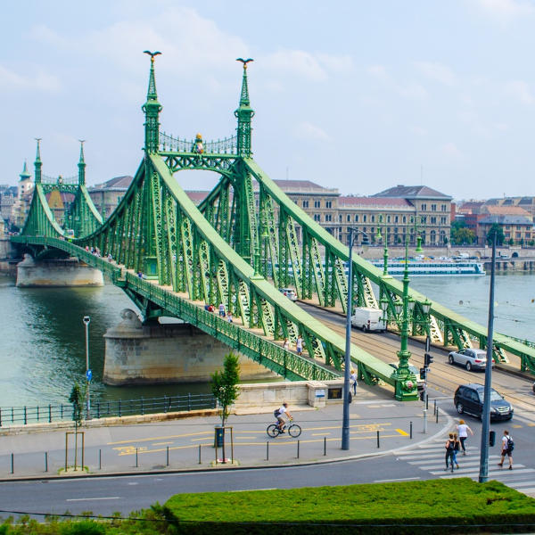 Budapest Szabadsag Bridge