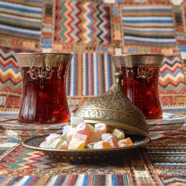 Turkish Delight And Tea