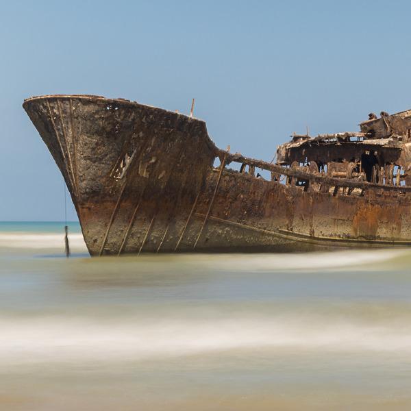 Macuti Beach Shipwreck Beira
