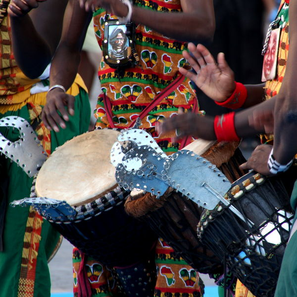 dakar music and dancing