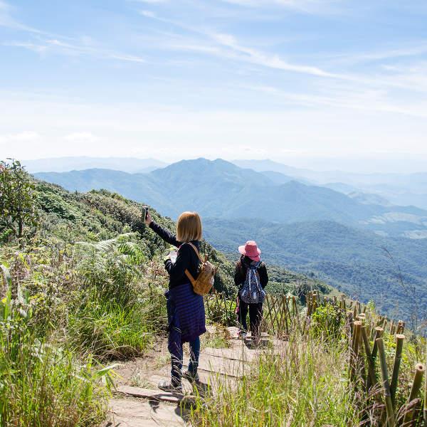 Kew Mae Trail Chiang Mai