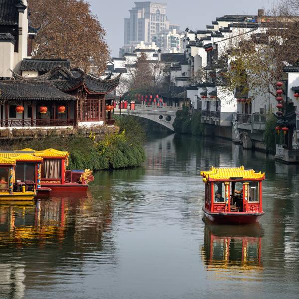 Qinhuai River Nanjing