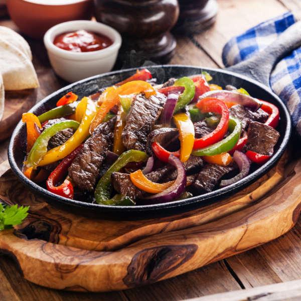 Beef Fajitas In Pan Adelaide