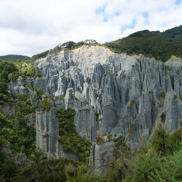 Putangirua Pinnacles Wellington
