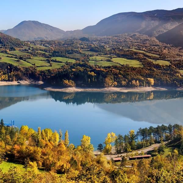 Suviana Lake Bologna