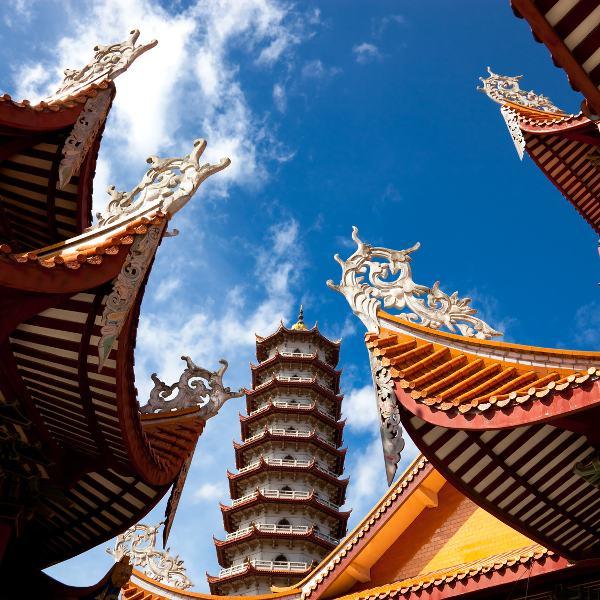 Temple in Yiwu