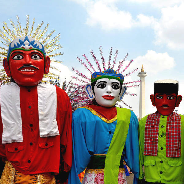 jakarta colourful culture