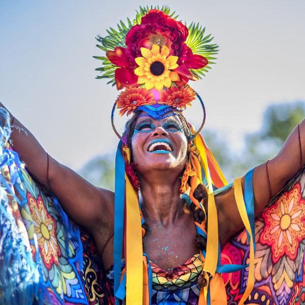 Rio de Janeiro Carnival Dancer