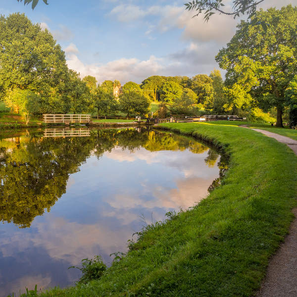 view of leeds liverpool canal