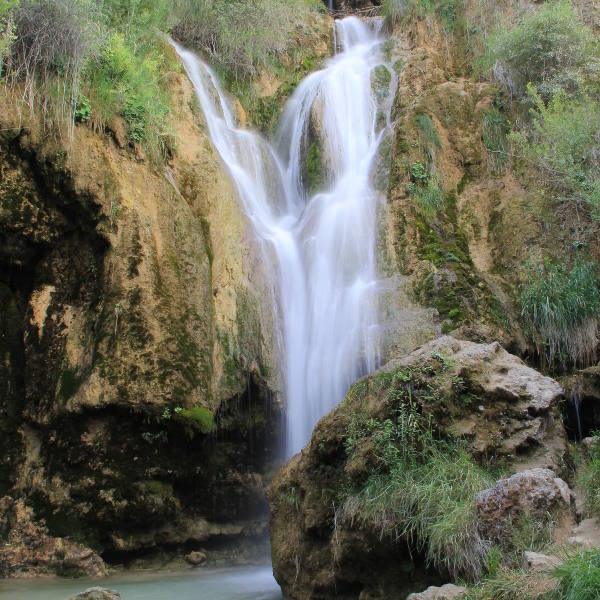erzincan waterfall in summer