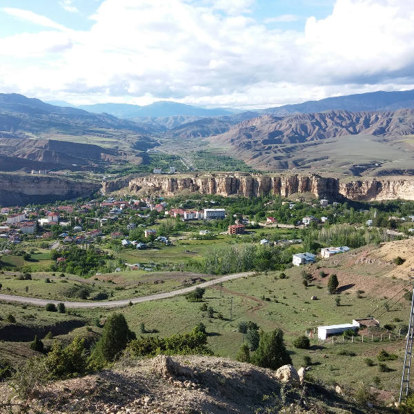 erzincan view of ancient remains