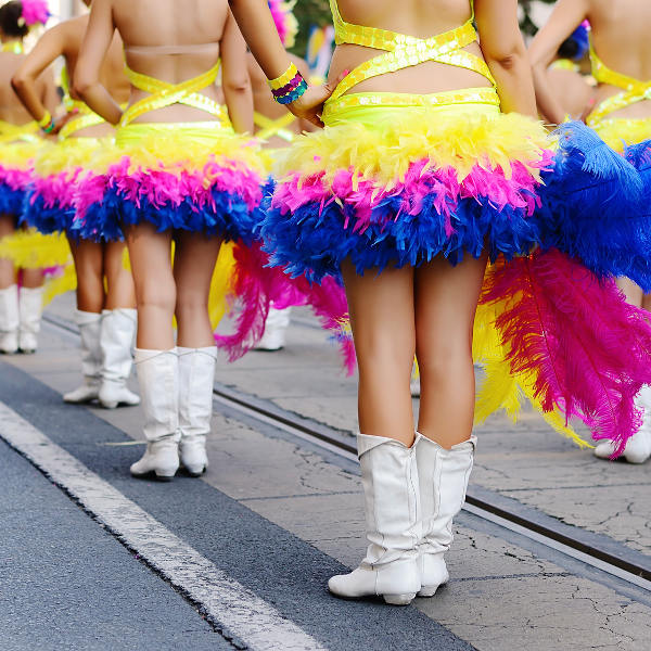 debrecen flower carnival girls