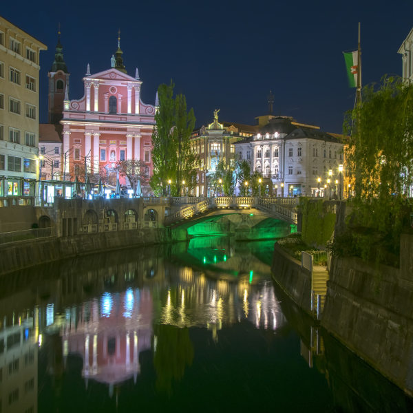 Ljubljana Night Lights