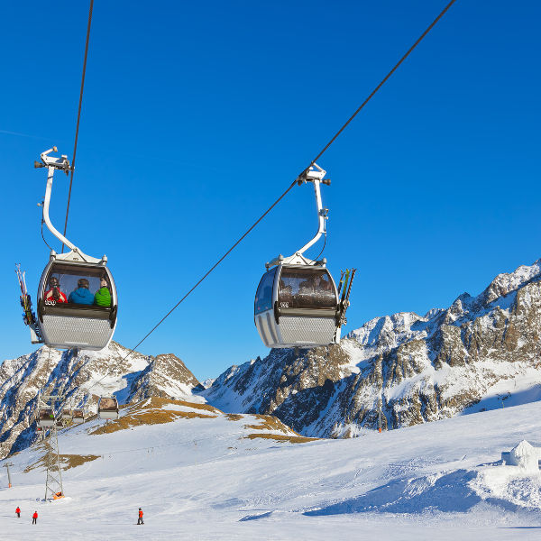 innsbruck alps ski slopes