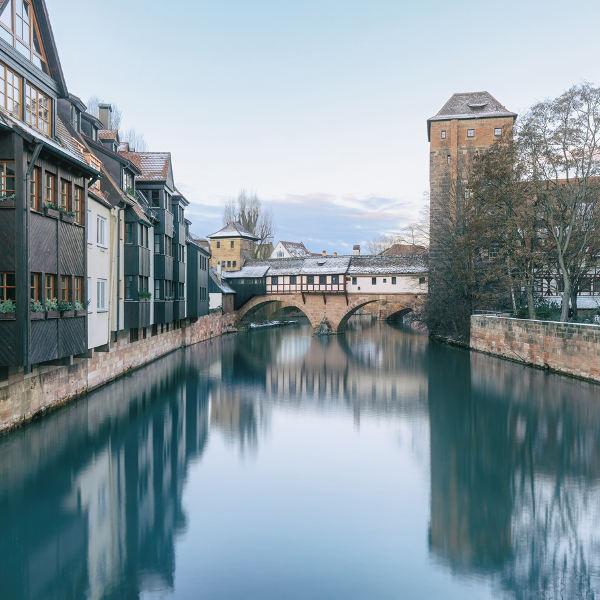 Nuremberg Pegnitz River