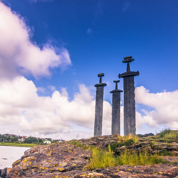 Three Swords Stavanger Historic Sites