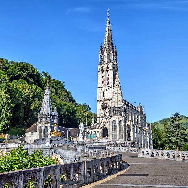 lourdes religious sites
