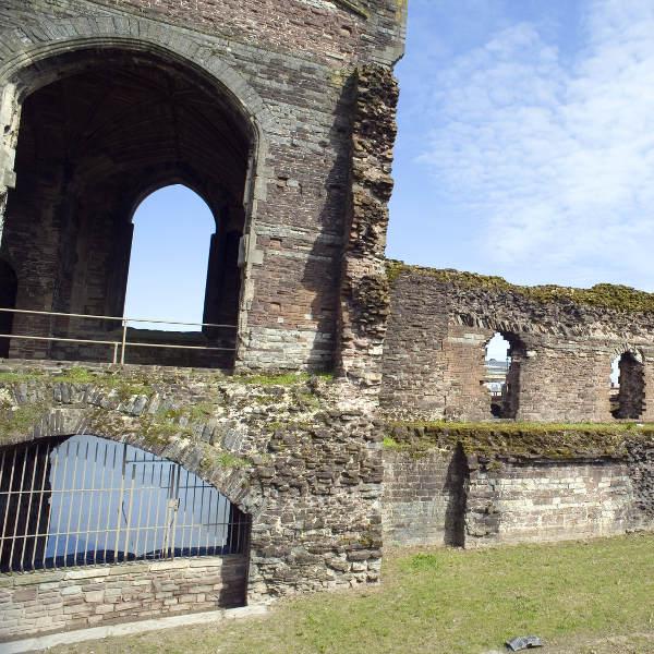 newport castle ruins