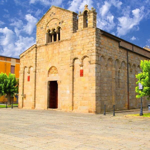 olbia basilica san simplicio